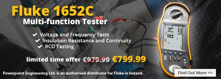 Fluke 1652c Multifunction Installation Tester - Special Offer
