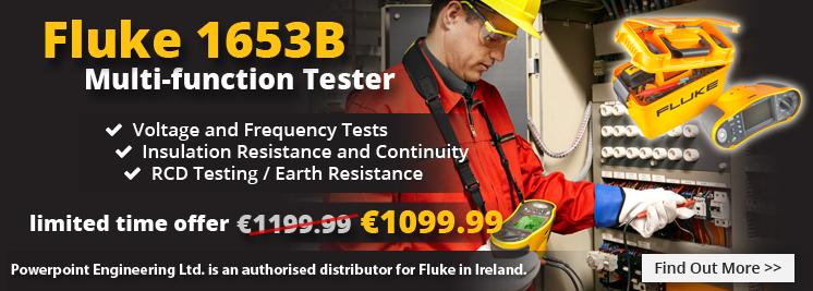 Fluke 1653B Multifunction Installation Tester in a new lower price!