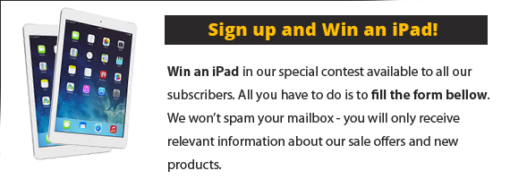 Signup for our newsletter and win