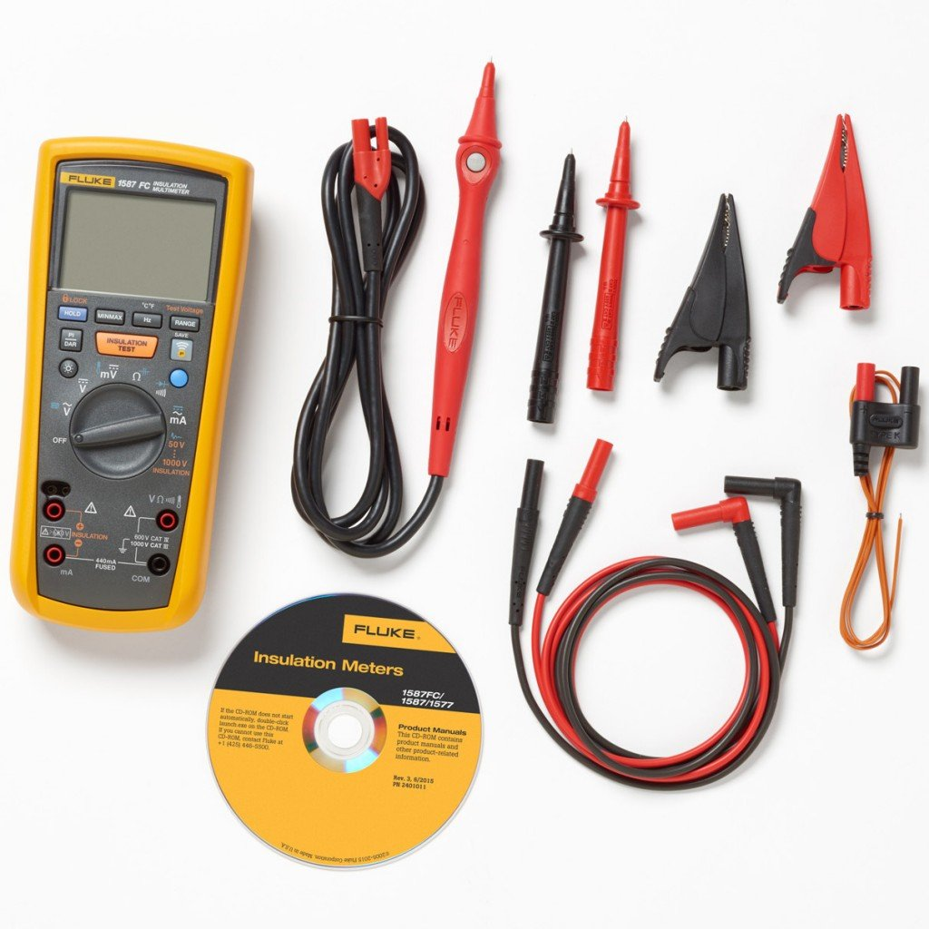 Fluke 1587FC Insulation Test Multimeter with Fluke Connect Gallery Image