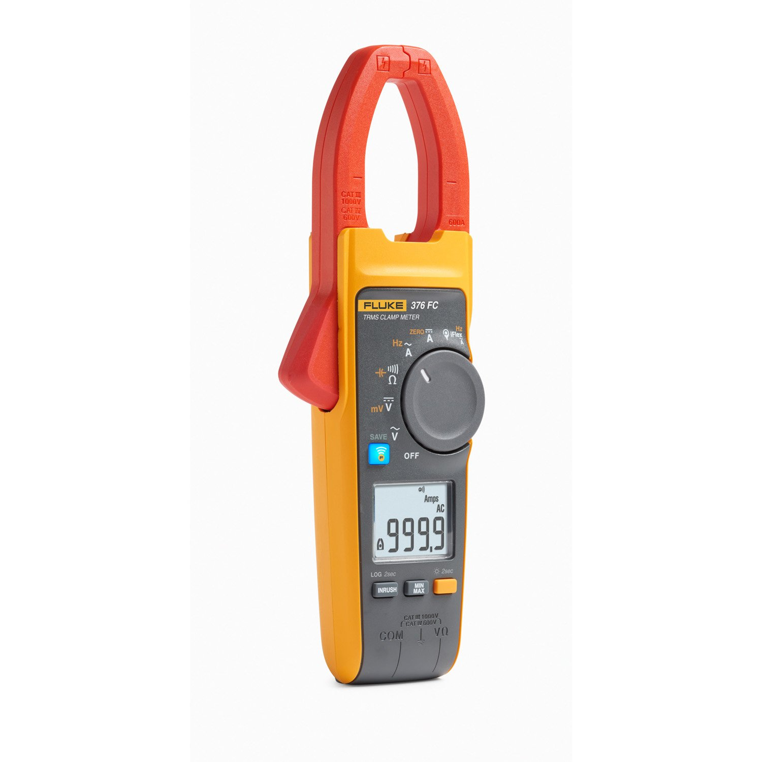 Fluke Meters Clamp On Sale : Fluke fc connect clamp meter with iflex