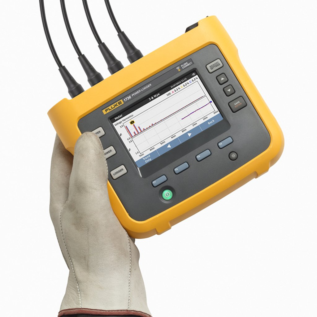 Fluke Tick Tester : Fluke three phase power logger testers ie