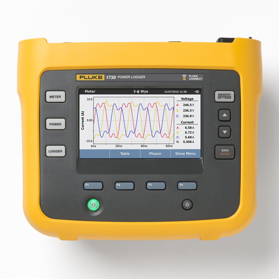 Fluke Tick Tester : Fluke three phase power quality analyser testers ie