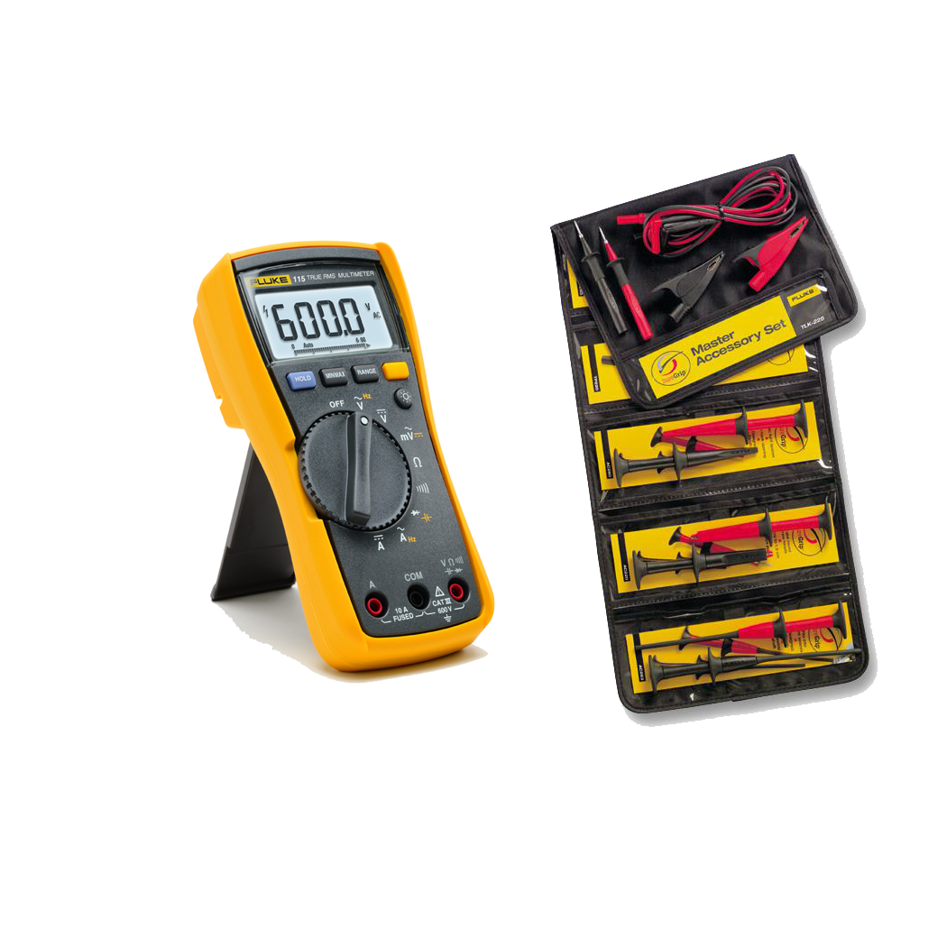 Fluke Tick Tester : Fluke digital multimeter plus tlk safety bundle