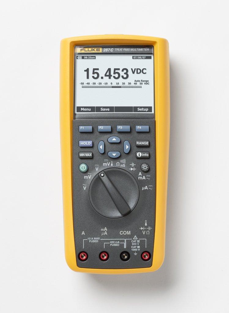 Fluke 287 True-rms Electronics Logging Multimeter with TrendCapture