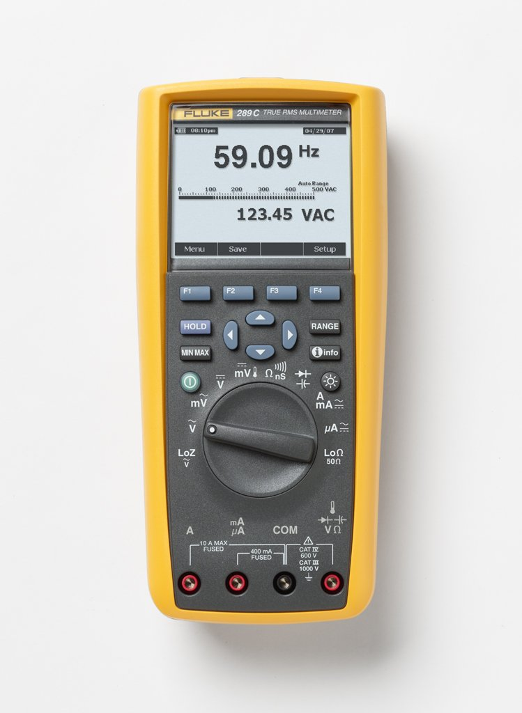 Fluke 289 True-rms Industrial Logging Multimeter with TrendCapture (Excluding FlukeView Forms Basic + IR USB cable)
