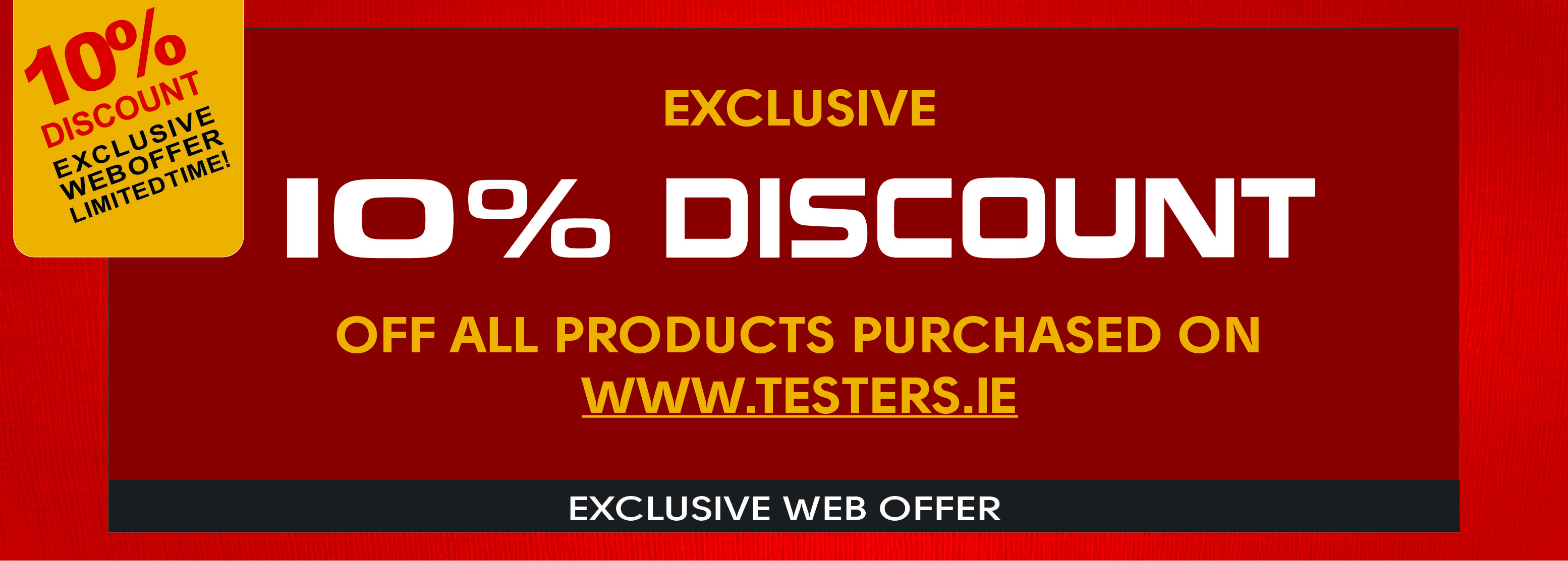 15% Discount Product Promotion