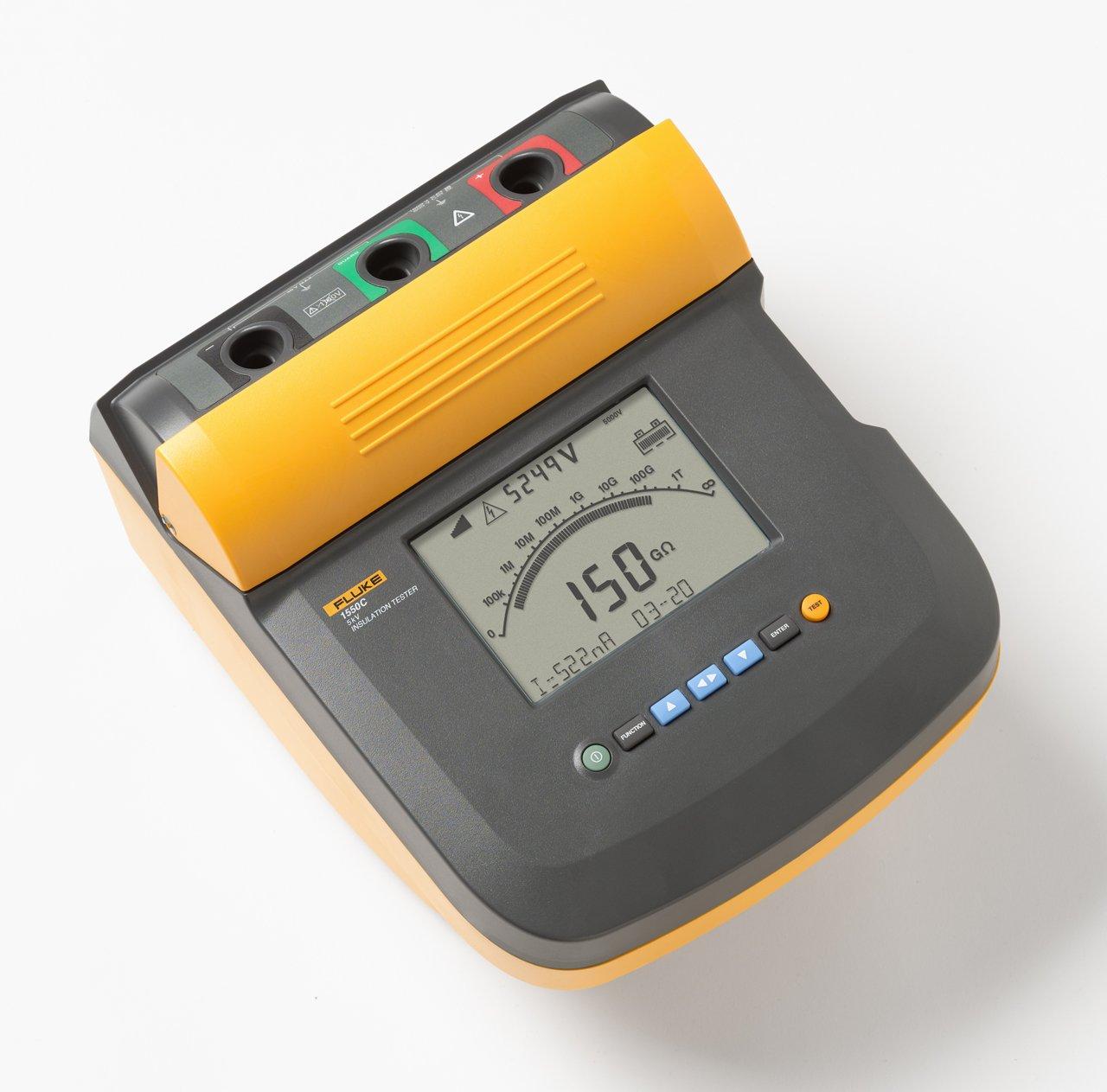 Fluke 1550C 5kV Insulation Tester Kit
