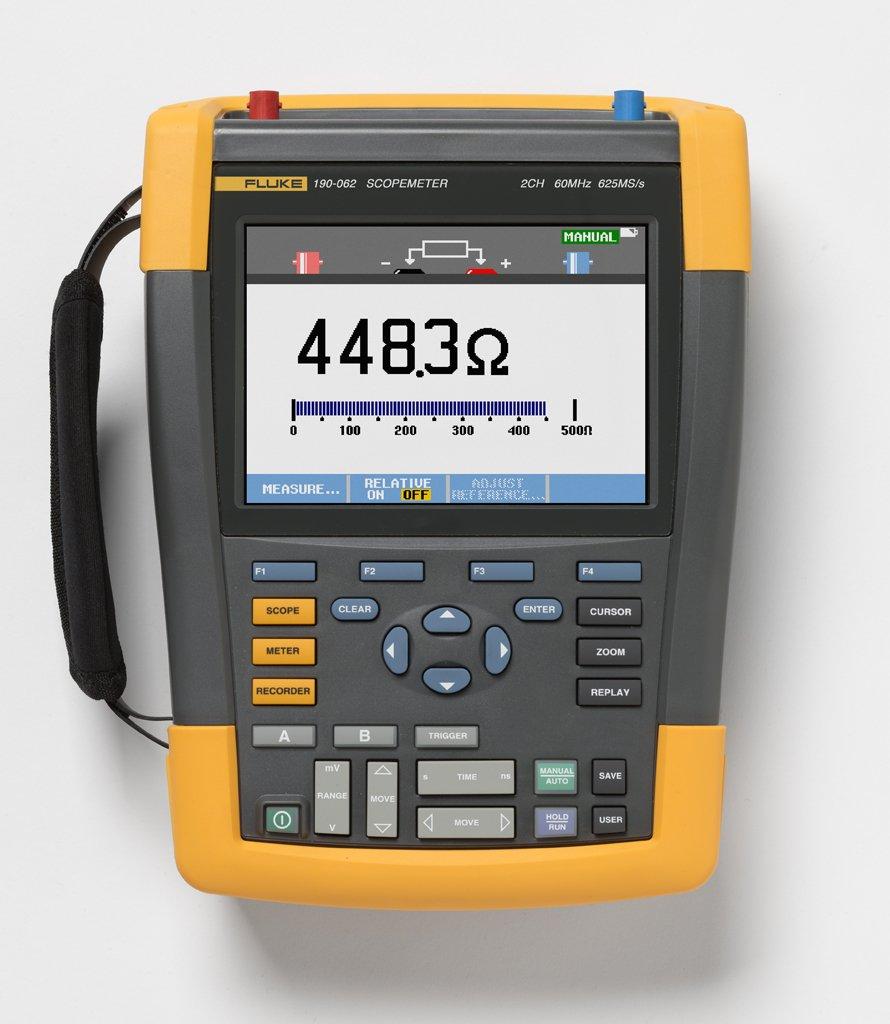 Fluke 190-062 ScopeMeter Handheld Oscilloscope