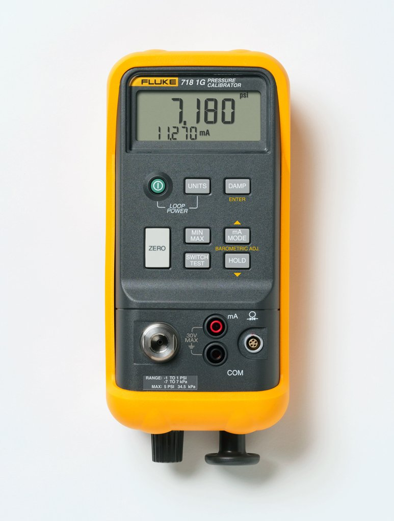 Fluke 718EX ATEX Certified Pressure Calibrator