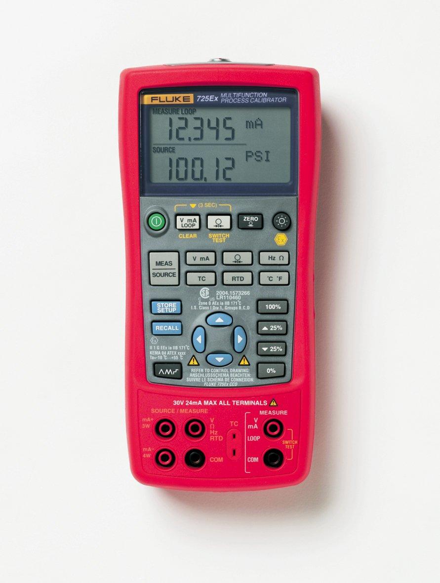 Fluke 725EX ATEX Ready Multifunction Process Calibrator