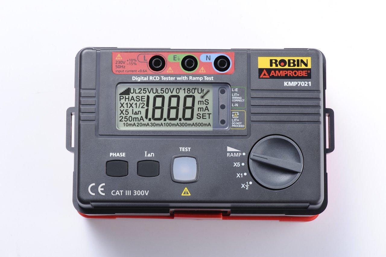 Beha-Amprobe KMP7021 Digital RCD Tester