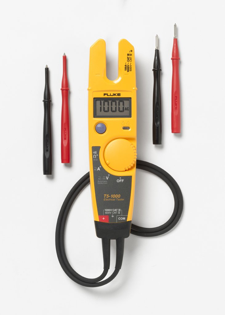 Fluke T5-1000 Voltage, Continuity and Current Meter
