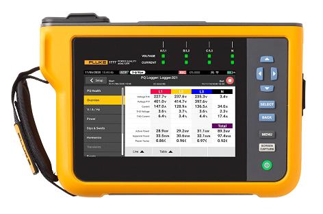 Fluke 1770 Series Power Quality Analyzers